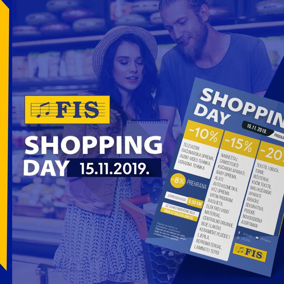 FIS SHOPPING DAY 15.11.2019., u svim FIS centrima u Bosni i Hercegovini!