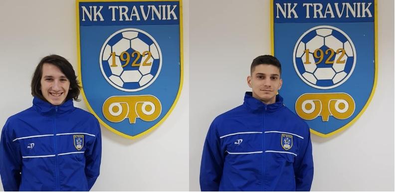 Mladi Timur Softić i Aid Zukanović oblače dres NK Travnik
