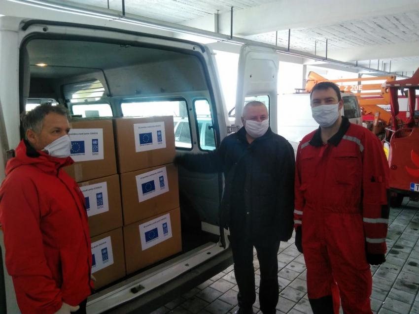 Isporučen dio opreme za zdravstvene ustanove na Srednjobosanskom kantonu